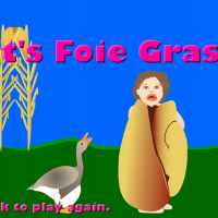 The liver becomes foie gras.